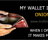 My Wallet Is Like Onion