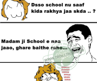 Funny Students of the School