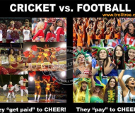 The cheerleaders of the Different Games