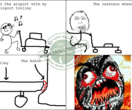 The Airport Trolly
