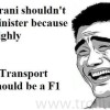 Funniest Jokes on Smriti Irani