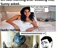 Jaadu Got Married to Sunny Leone