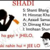 The Meaning of SHADI