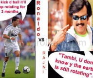 Ronaldo Vs Rajinikanth