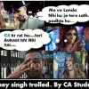 Honey Singh Trolled By CA Students