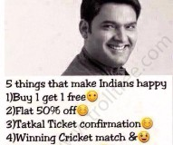 5 Things That Make Indians Happy