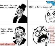Hey Son – Do You Want a Burger?