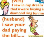 Husband Trolls his Wife