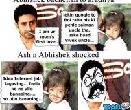 Ash n Abhishek Shocked