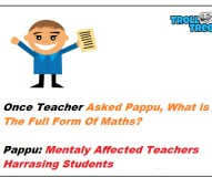 Once Teacher Asked Pappu