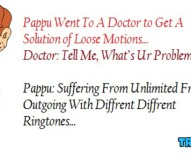 Pappu Went To A Doctor to Get A