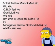 Sabzi Teri Ho Mandi Meri Ho – Hindi Funny Shayari Jokes