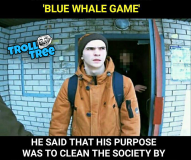 THE MAN WHO INVENTED THE BLUE WHALE GAME
