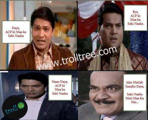 Funny CID In India