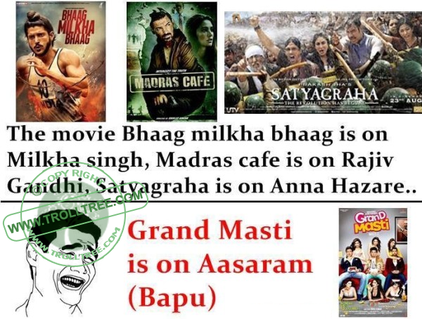 Grand Masti Is On Aasaram