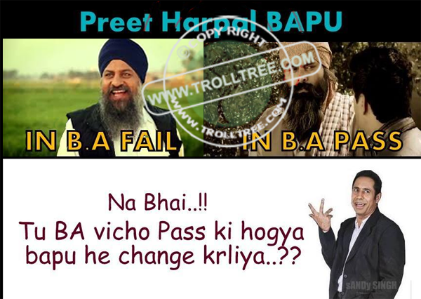 Binnu Dhillon Trolled To Preet Harpal