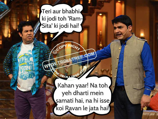 The Kapil Sharma `s joke