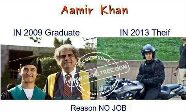 The popularity of Amair khan