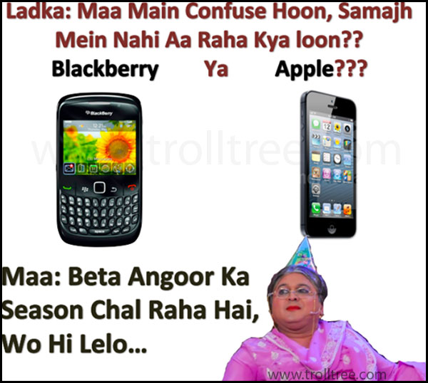 BlackBerry  Ya  Apple ???
