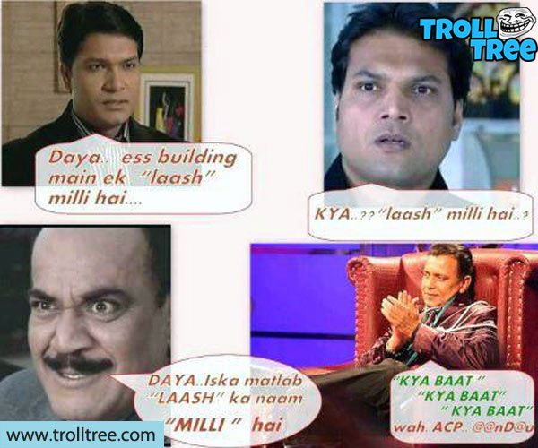 Funny Jokes on Abhijit, Daya, ACP