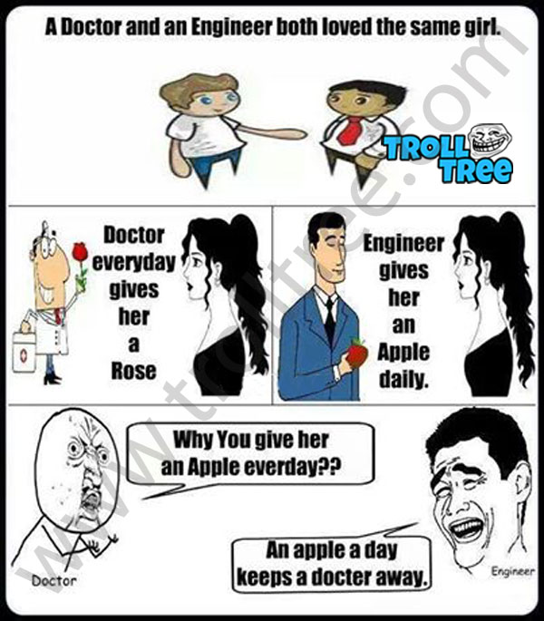 A Doctor and an Engineer Both Loved Same Girl
