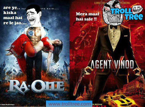 Ra-One Vs Agent Vinod