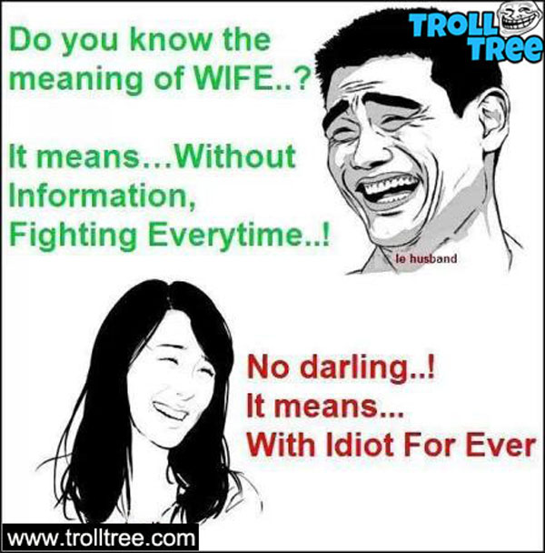 Real meaning of wife