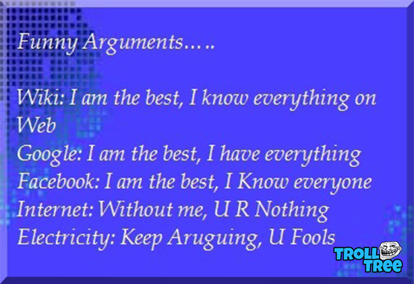 Funny Arguments