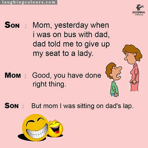 Mother & Son Funny Jokes at TrollTree.Com