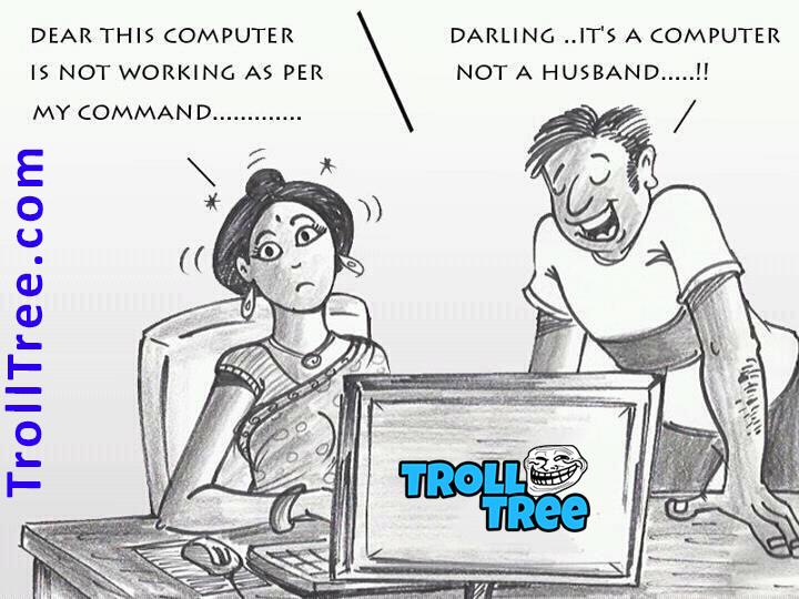 Husband & Wife Funny Jokes at TrollTree.Com