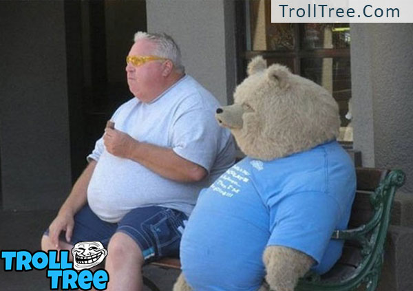 Cute Funny Teddy Bear Pics at TrollTree.Com