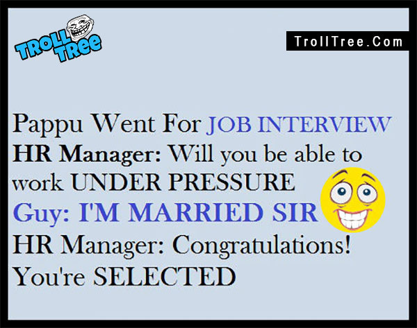 Job Interview Funny Trolls