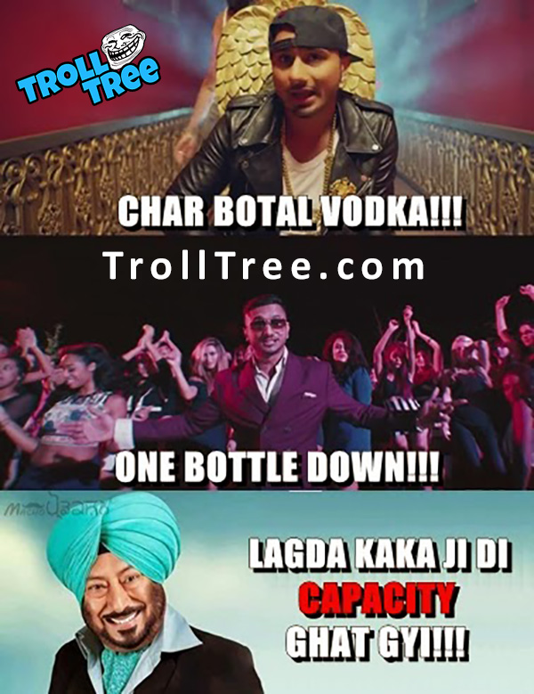 Honey Singh Funny Trolled By Jaswinder Bhalla – Latest Funny Punjabi Jokes
