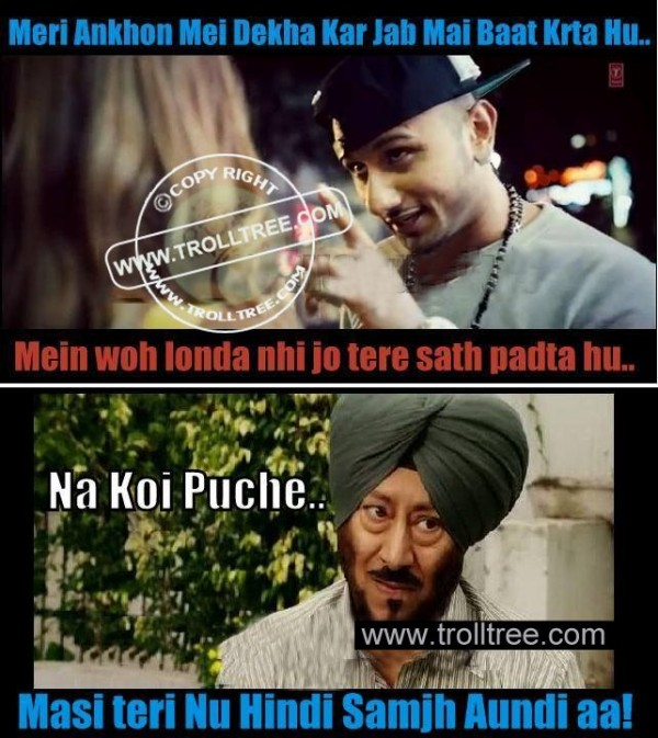 Honey Singh Funny Trolled By Jaswinder Bhalla