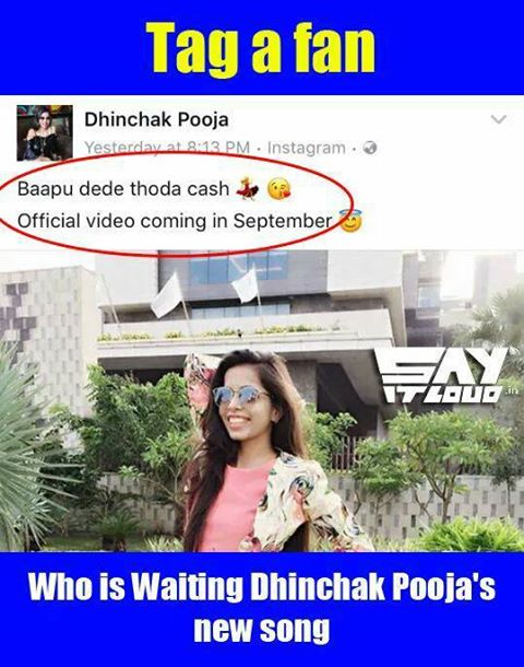 #TAG That Dhinchak Pooja FAN