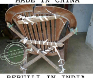 Made in China & Rebuilt in India