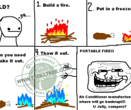 Burning Fire Affect