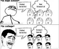 Difference Between School and College