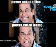 Power Cut At Office