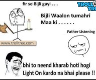 Funny Joke on Electricity Department
