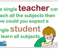 If A Single Teacher Can't