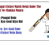 Do Pagal Cricket Match Dekh Rahe The