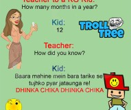Teacher & Student Funny Trolls & Pictures