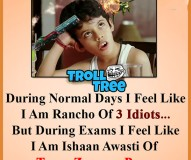 Normal Days And Exam Days