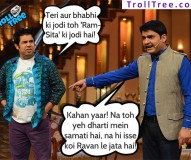 Latest Kapil Sharma Funny Jokes & Pictures at TrollTree.Com