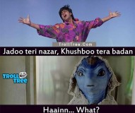 Bollywood Actors Shahrukh Khan Funny Trolls at TrollTree.Com