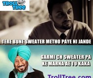 Aarsh Benipal Trolled By Jaswinder Bhalla | Funny Punjabi Troll & Picture