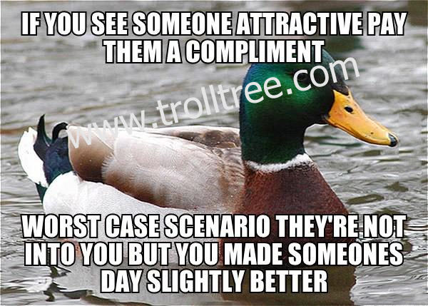 See Someone Attractive