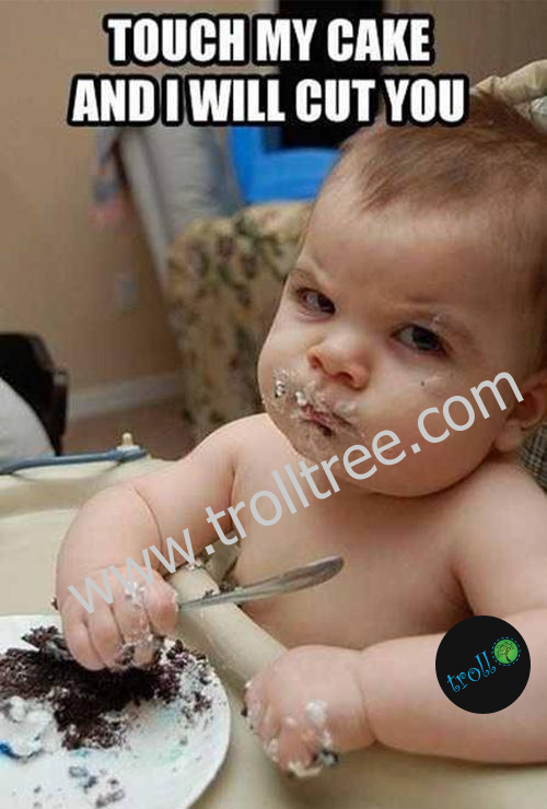 Touch My Cake And I Will Cut You