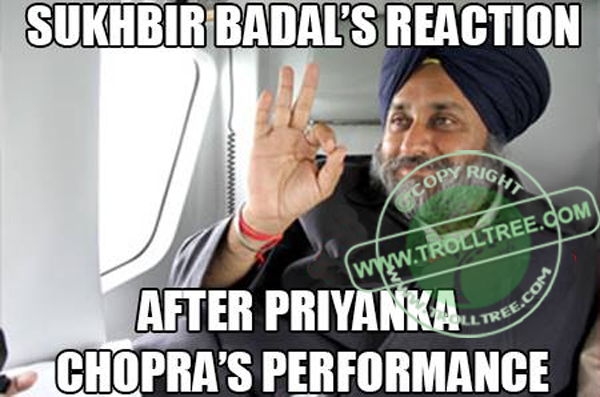 Sukhbir Badal's Reaction